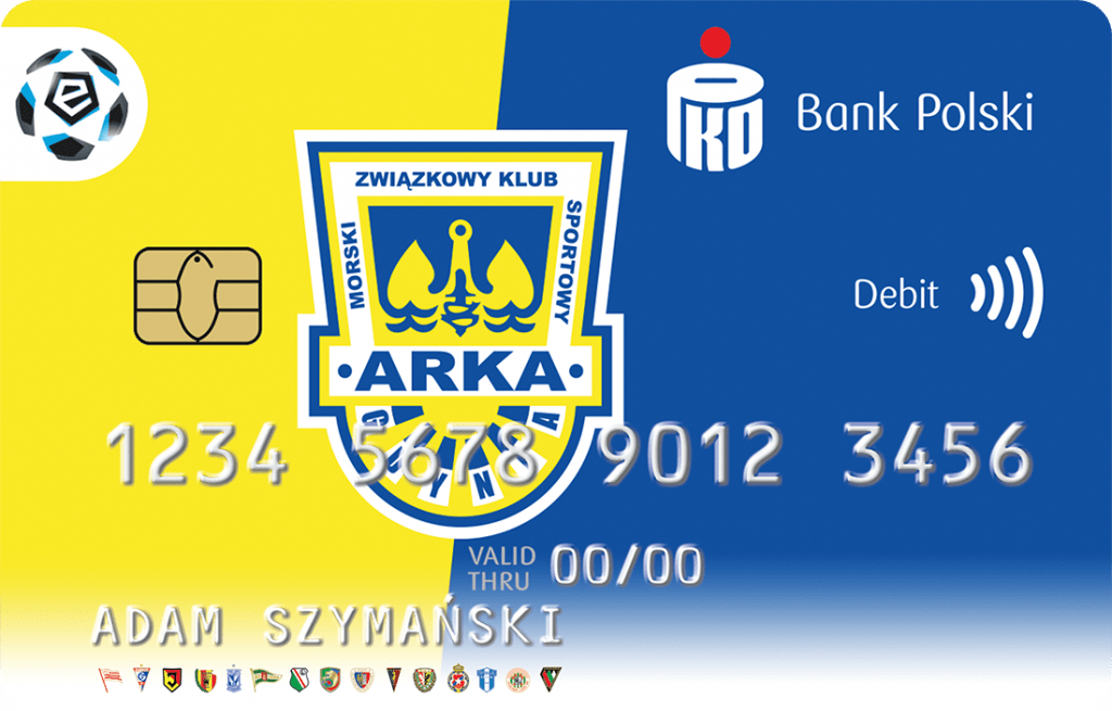 Arka Gdynia karta PKO BP
