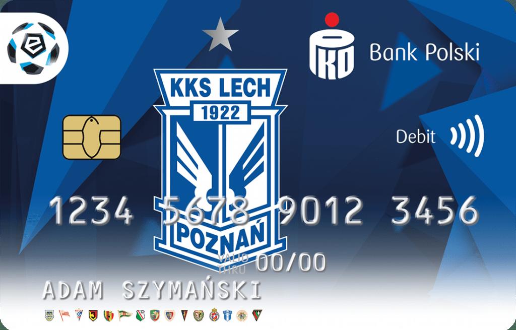 Lech Poznań karta PKO BP