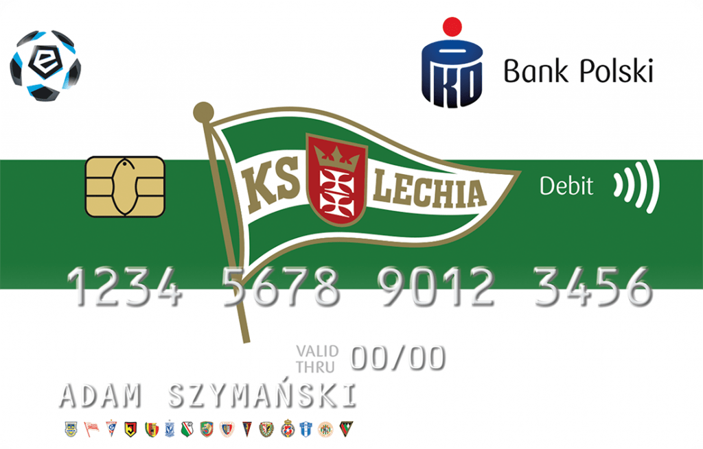 Lechia Gdańsk karta PKO BP