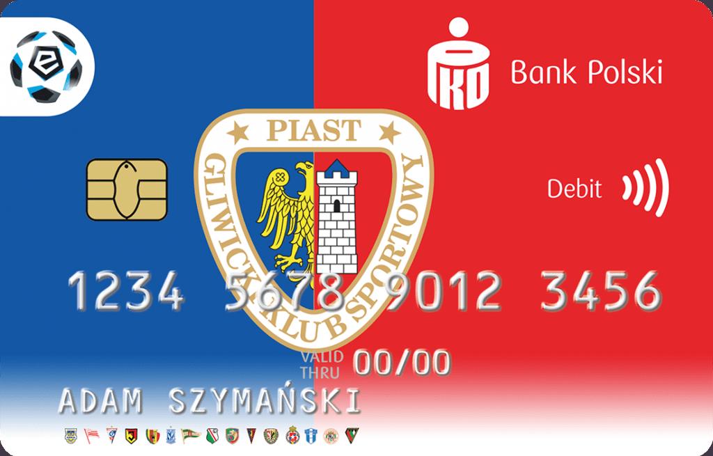 Piast Gliwice karta PKO BP