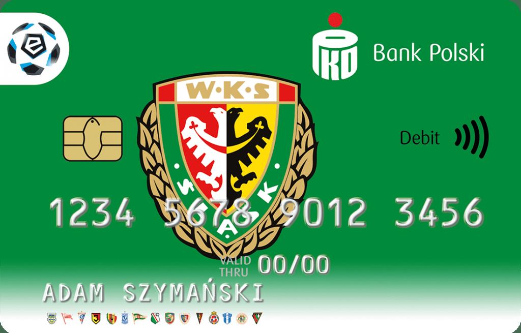 Śląsk Wrocław karta PKO BP