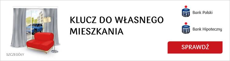 Promocja kredytu mieszkaniowego w PKO Banku Polskim
